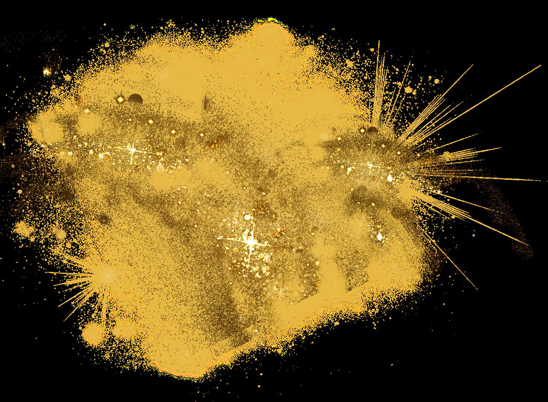 gold dust sparkles glitter