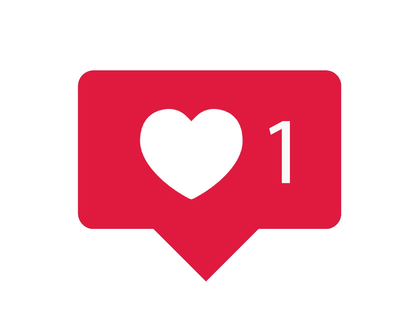 Instagram Love Stiker Story Comment Icon Logo