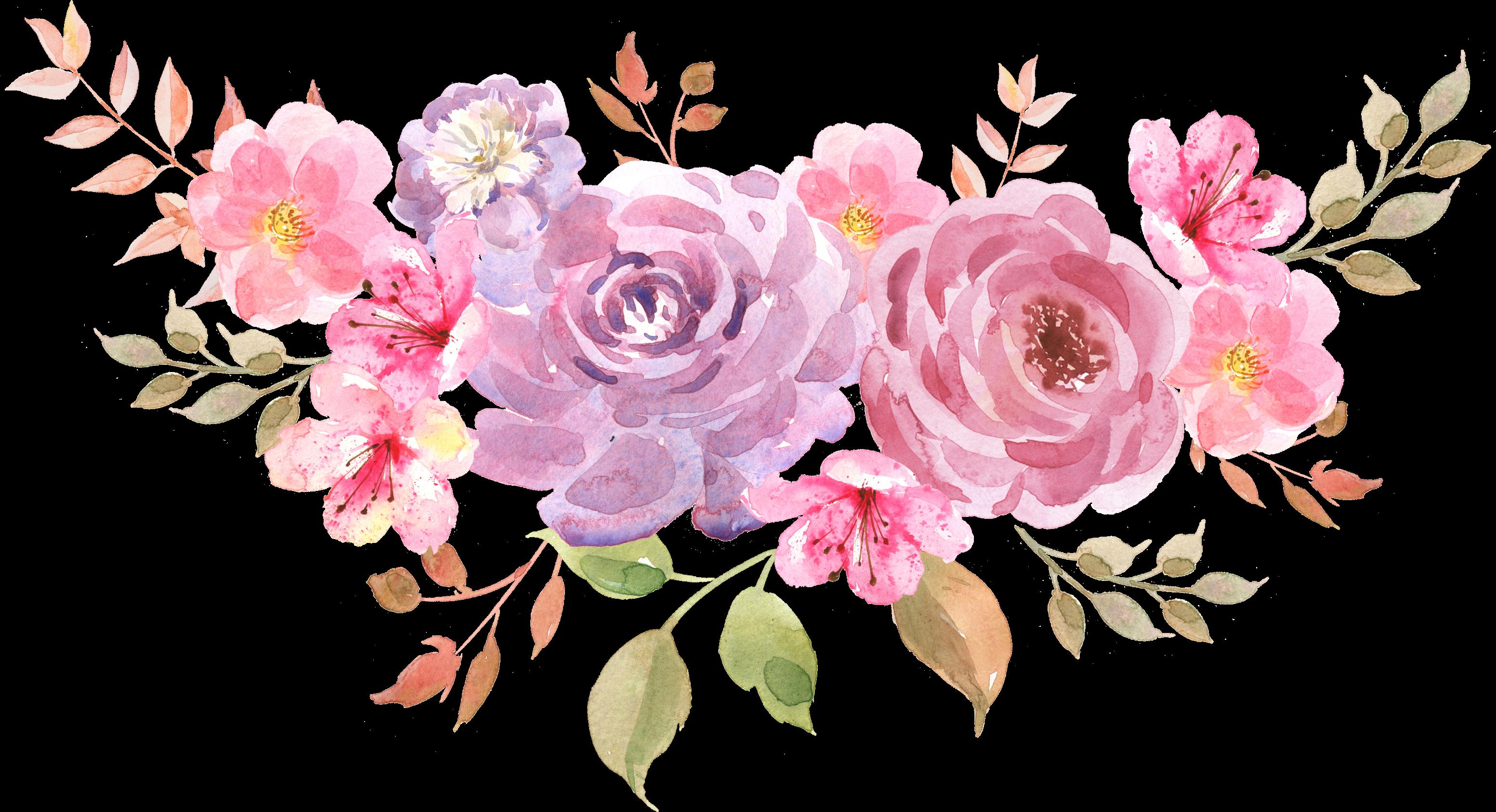 freetoedit ftestickers watercolor paint flowers cluster...