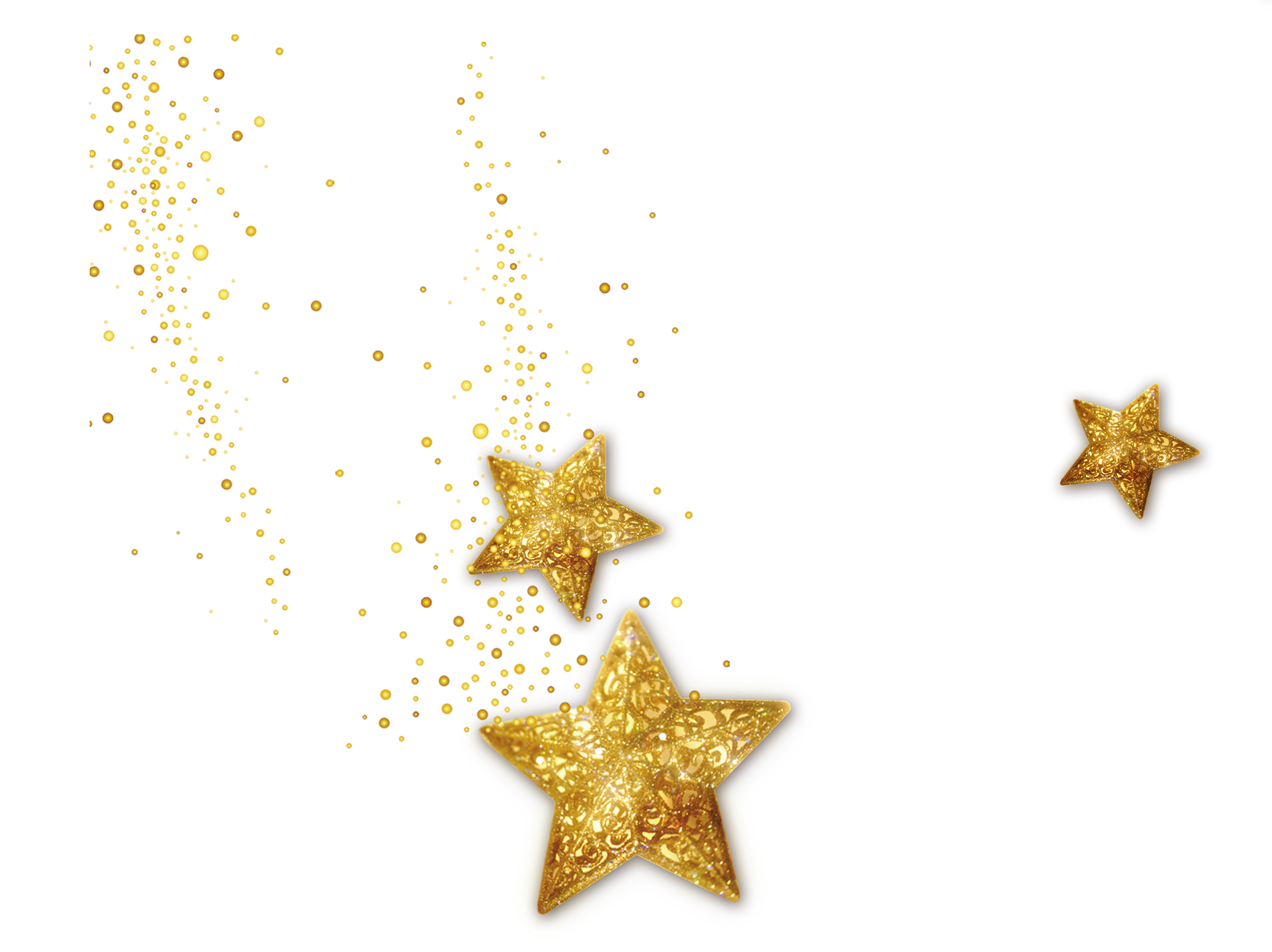 stars star glittery glitter golden gold sparkles sparkl...