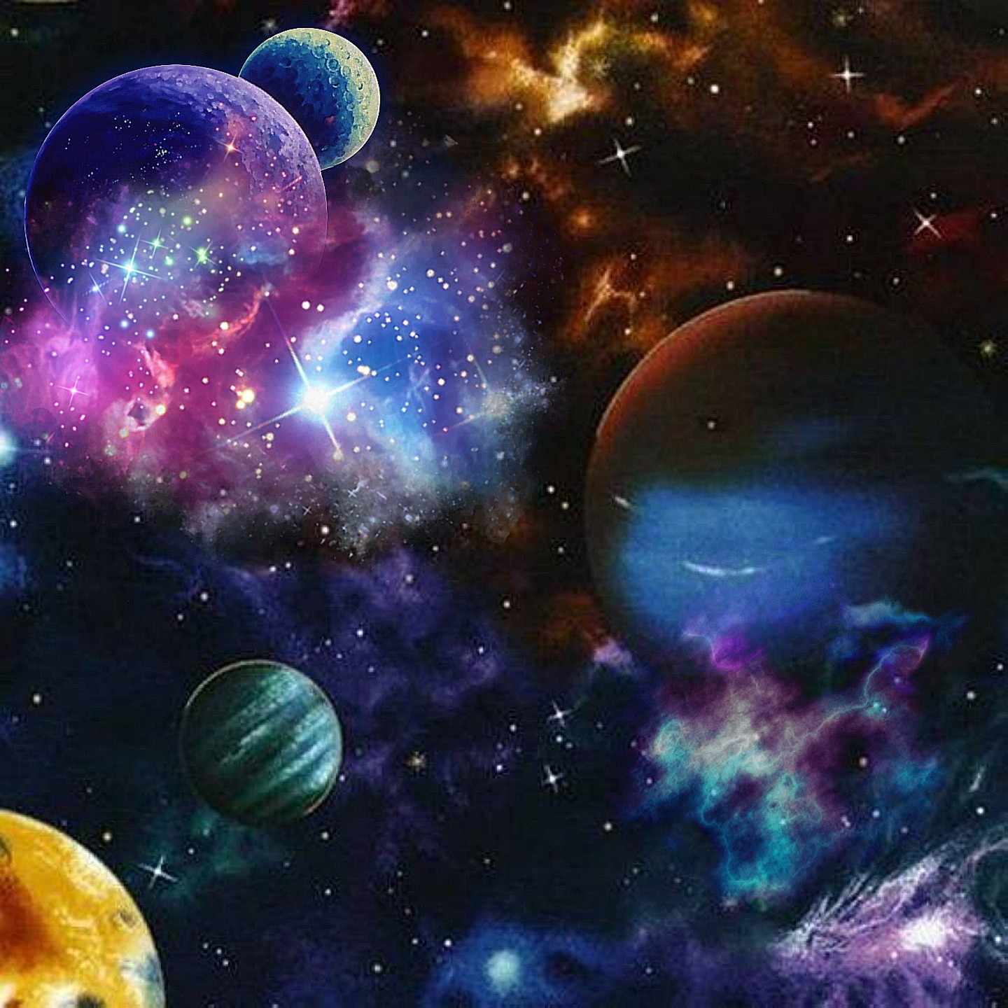 Universe space galaxy cosmic cosmos planets solar syste - Galaxy and planets ...