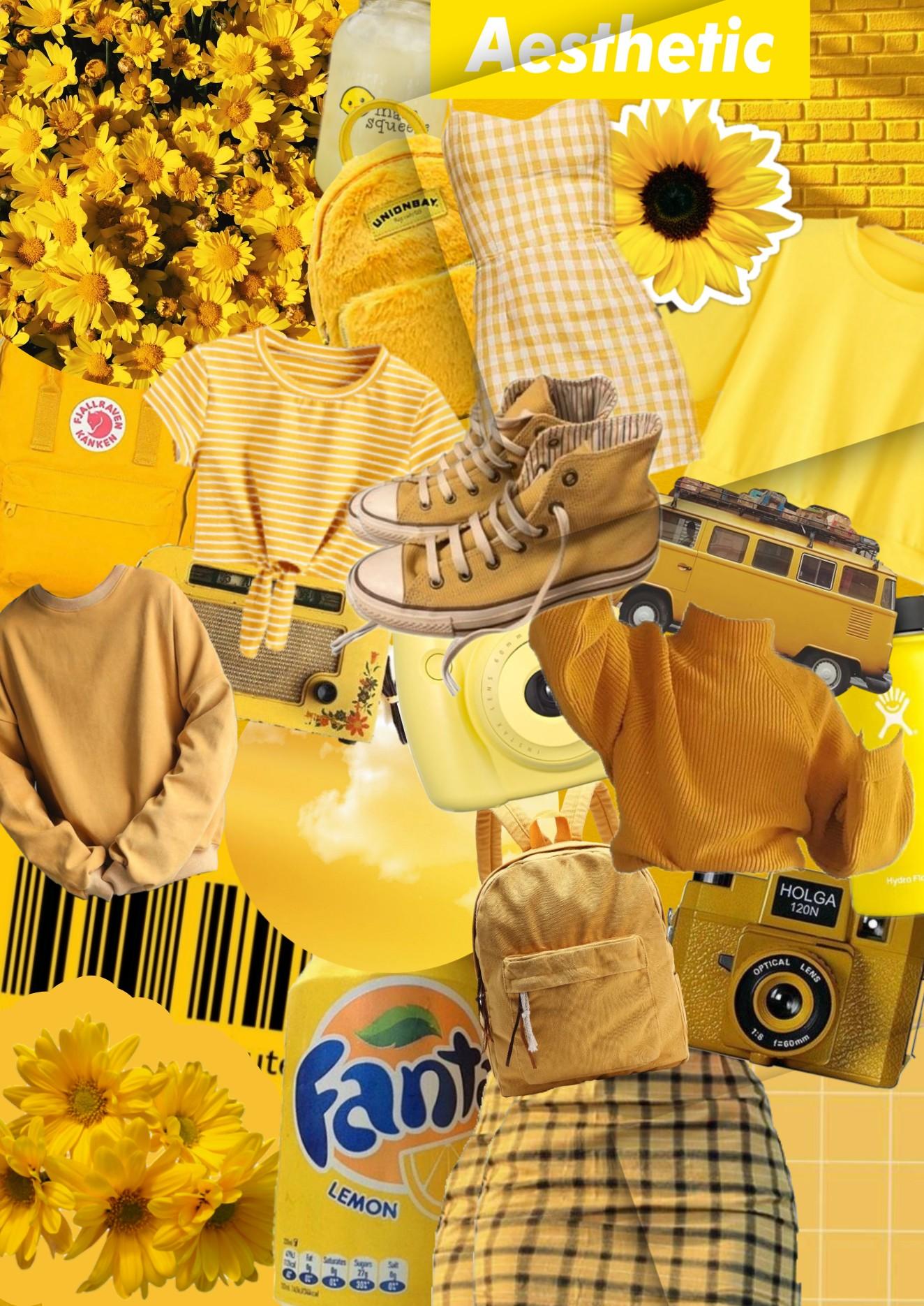 freetoedit background yellow aesthetic...