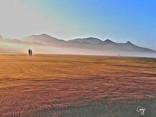 freetoedit edited landscape couple oilpaintingeffect