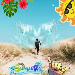 freetoedit summer sun surf love