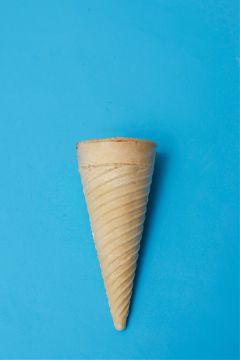 freetoedit icecream wafflecone blue bluebackground