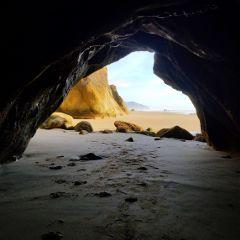 beach cave nature photography optoutside freetoedit