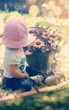 sticker cute baby photoedit bokeh