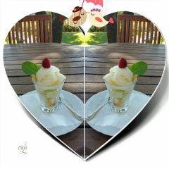 icecream mirrored schmackofatz @csefi iloveit