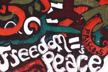 murals freedom peace sanfrancisco