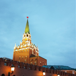 moscow red twilight