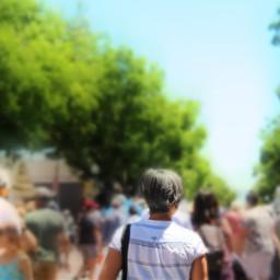 freetoedit focusblur people outside