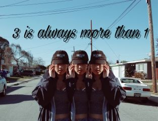 freetoedit 3twins quote blue sky