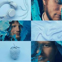 blue aesthetic edsheeran