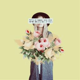 freetoedit text girl minimal art