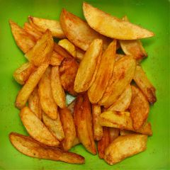 freetoedit friedpotatoes potatoes green greenbackground