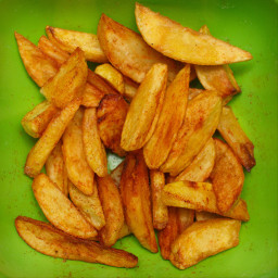 freetoedit friedpotatoes potatoes green greenbackground