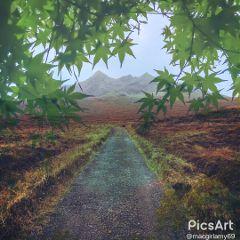 freetoedit edited remix mountains overlay