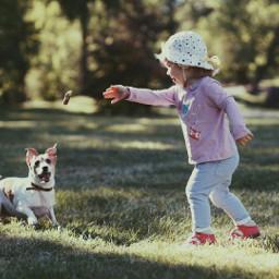 freetoedit photography dog park child