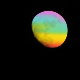 rainbowlightcontest moon photography digitalphotography