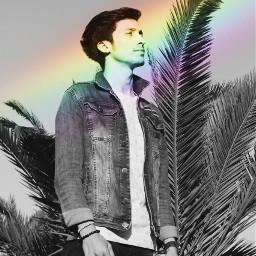 myrmx rainbowdreams blackandwhite freetoedit