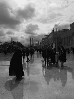 shadows tehran iran blackandwhite