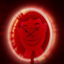 clock goofy neon tilly zoomblureffect