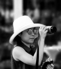 photography blackandwhite woman photoinphoto people freetoedit