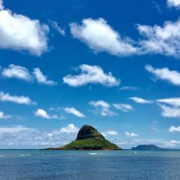 hawaii chinamanshat island paradise oahu freetoedit