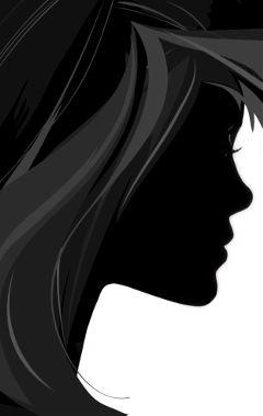 freetoedit silhoutte profile woman sideview