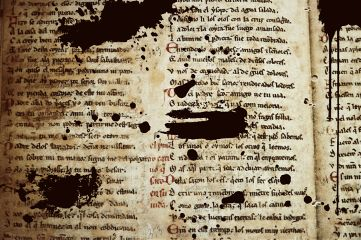 freetoedit ancient text ink book