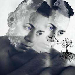 freetoedit blackandwhite colorsplash emotions oldphoto