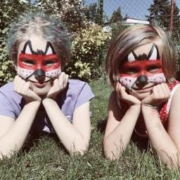 freetoedit masks kidsparty summer fun