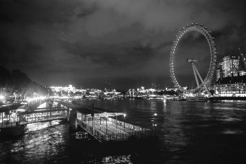 blackandwhite citylights photography london