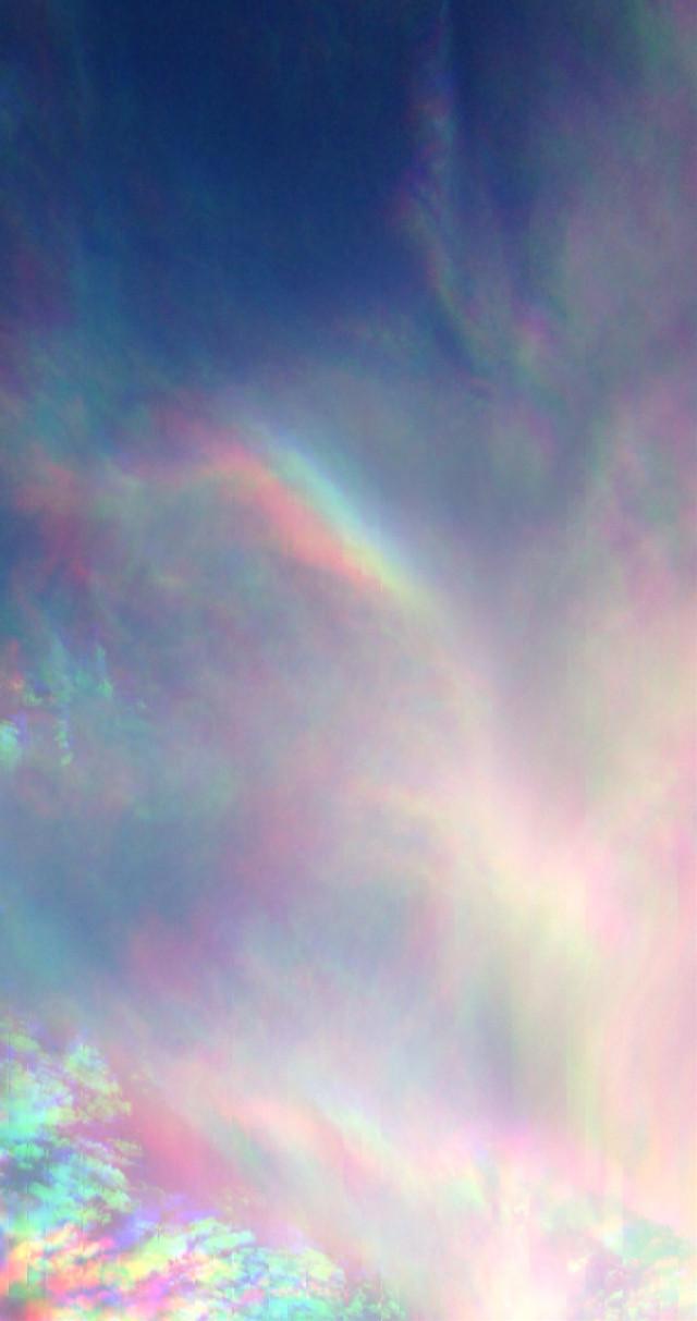 #freetoedit #clouds #scn #rainbow