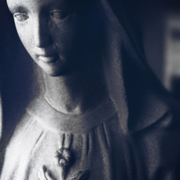photography statue virginmary catholic spiritual freetoedit