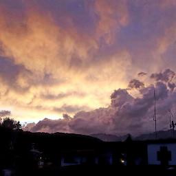 sunset pinksky colorful skyphotography skylovers