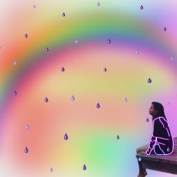 freetoedit neonoutlines outlinescontest purplerainstickerremix rainbowmagiceffect