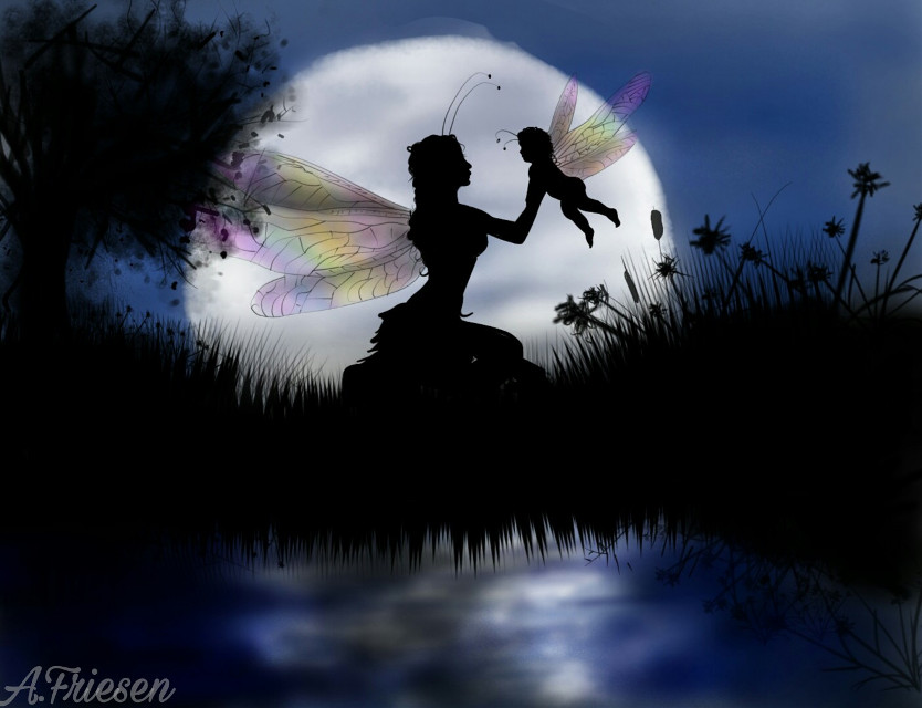 1st place! Thank you!  #wdpfairies #wdpmagicalcreatures #mydrawing #fairies #fairy #moon #sillhouette #magical #magic #drawingtools #art #firstplace #1stplace @francky001 #butterfly #butterflies #dcbutterflies