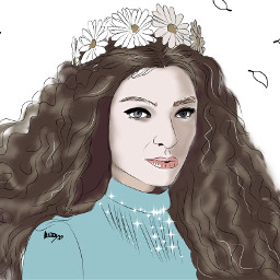 mydraw digitalart digitaldrawing lorde freetoedit