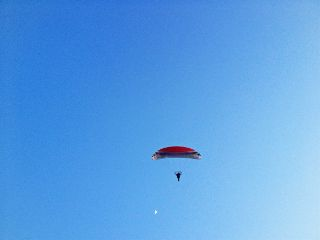 sky parachute moon phonephotography freetoedit