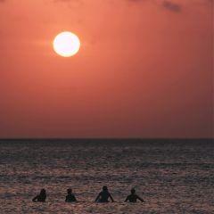 sunset beach photography nature picsart