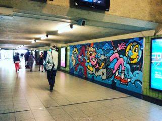 freetoedit graffiti colorful people random