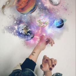freetoedit planet lune galaxy nebulosa