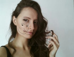 freetoedit denitsapavlova denaya_p portrait drawing