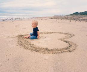baby beach love freetoedit
