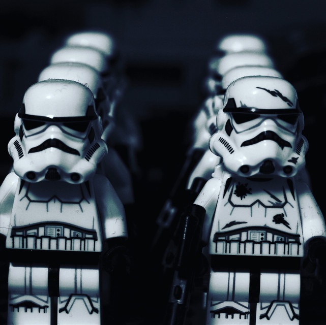 The army grows. #canon60d #canonphotography #editorialphotography #edit #lego #legofan #legolife #legostarwars #starwars #starwarsfan #starwarstheme #starwarsaddict #stormtrooper #stormtroopers #legostormtrooper #canoncamera #freetoedit