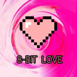 freetoedit love 8bit pink loveisthegreatestpower
