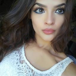 me girl eyes lips makeup freetoedit