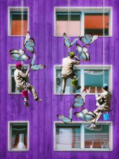 surreal window building myedit madewithpicsart freetoedit