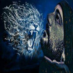magiceffect lion interesting sensual portrait freetoedit